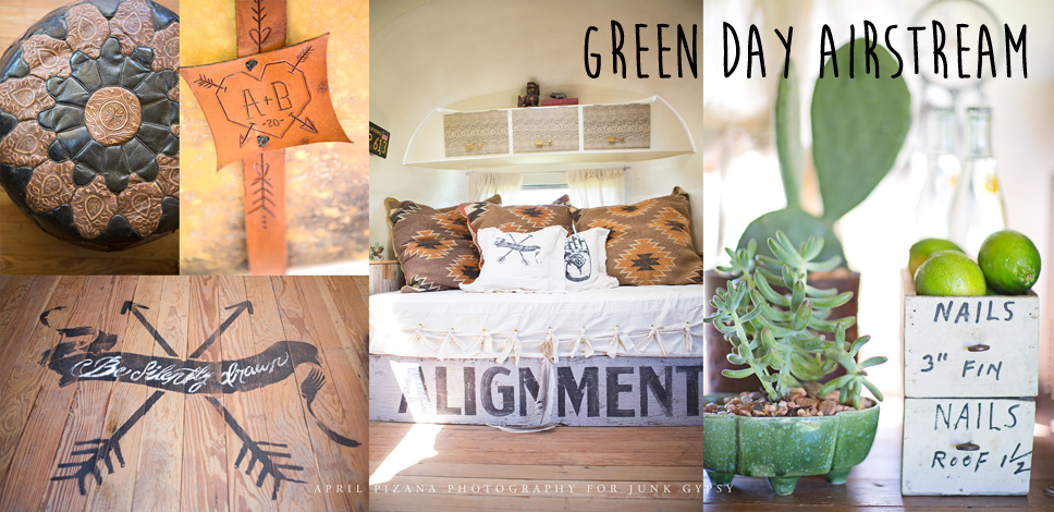 GREEN DAY airstream