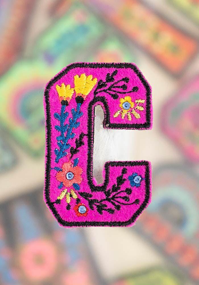 """letter patch """"c"""""""