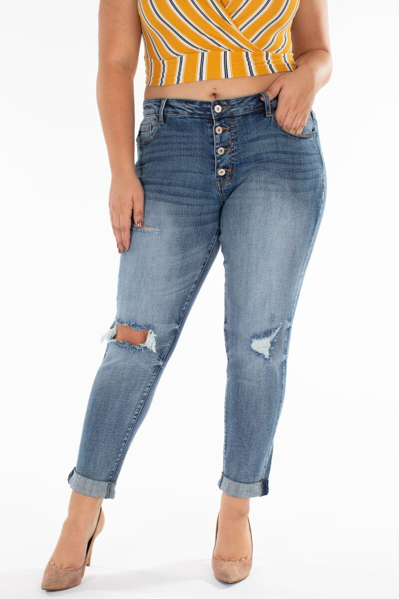 Kancan Nelly plus skinny jeans