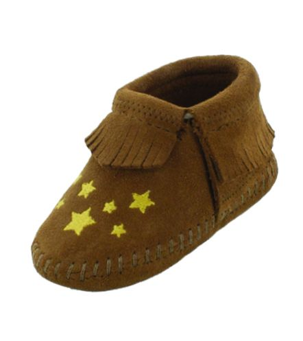 riley infant bootie - star