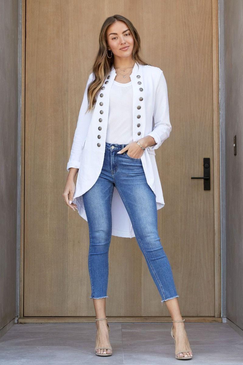 white sgt pepper jacket
