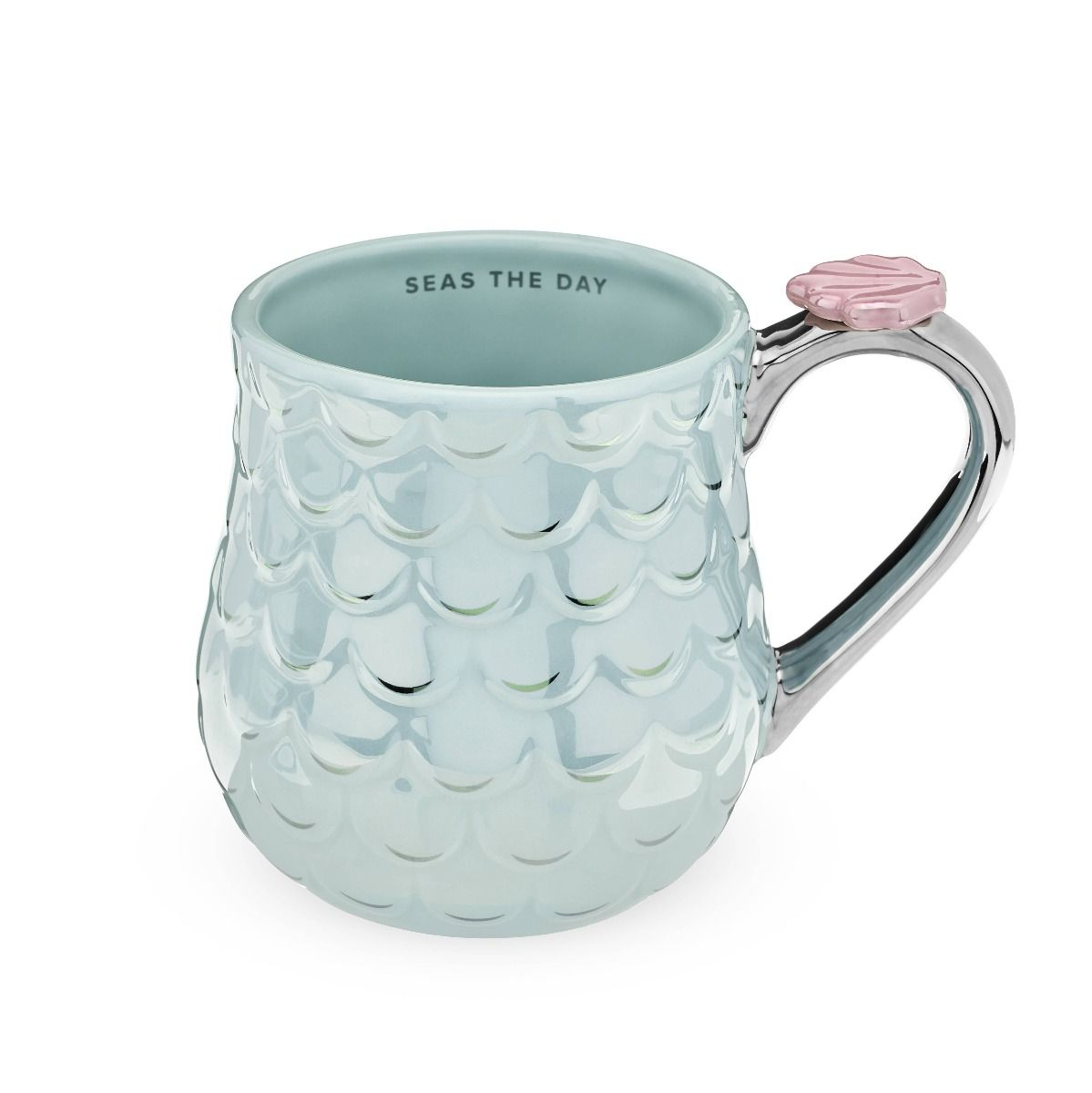 mermaid blue mug