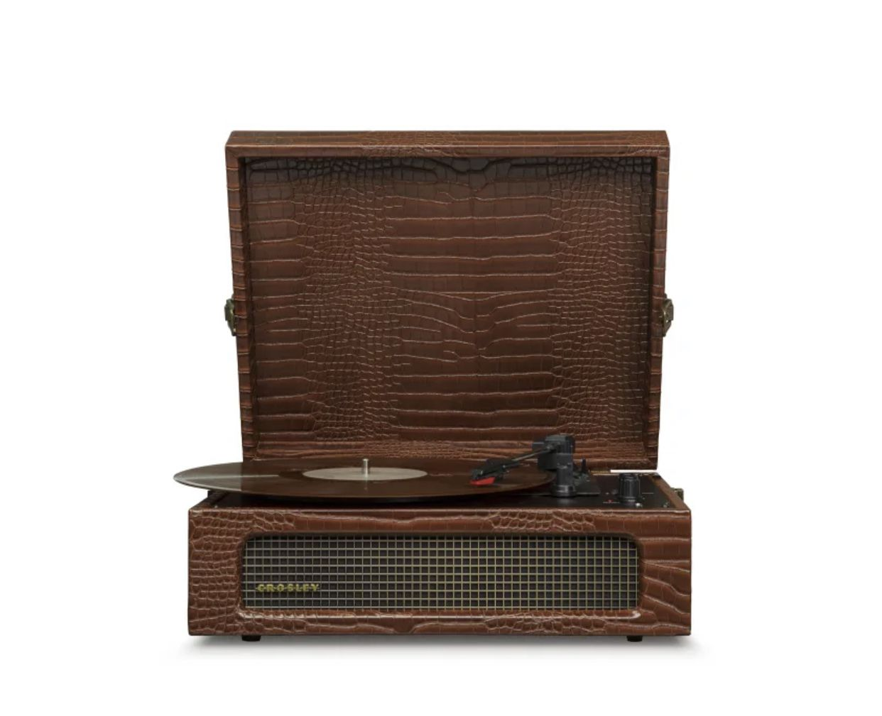 brown snakeskin voyager turntable