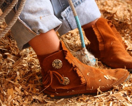 the concho moccasin