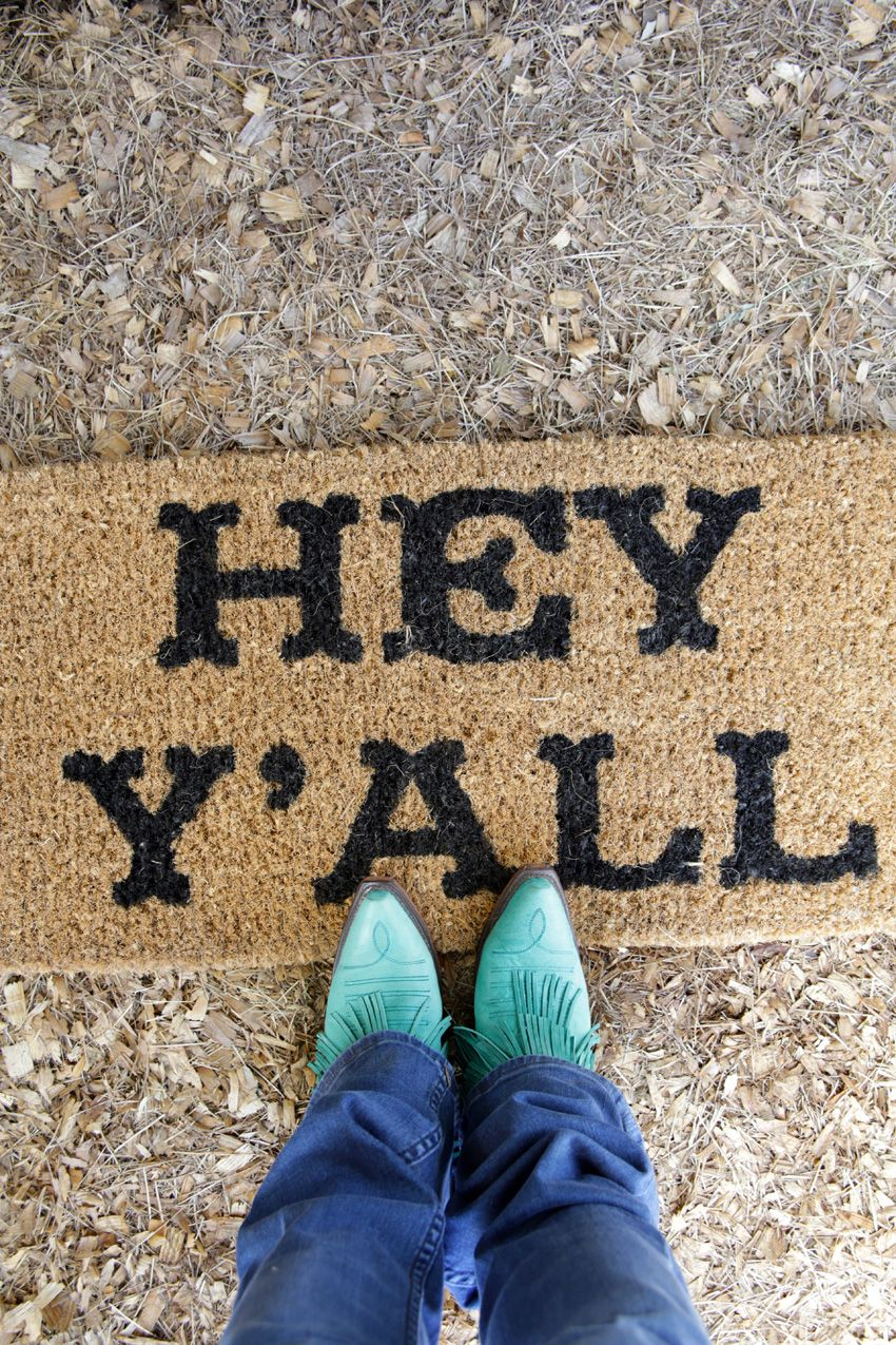 hey yall doormat