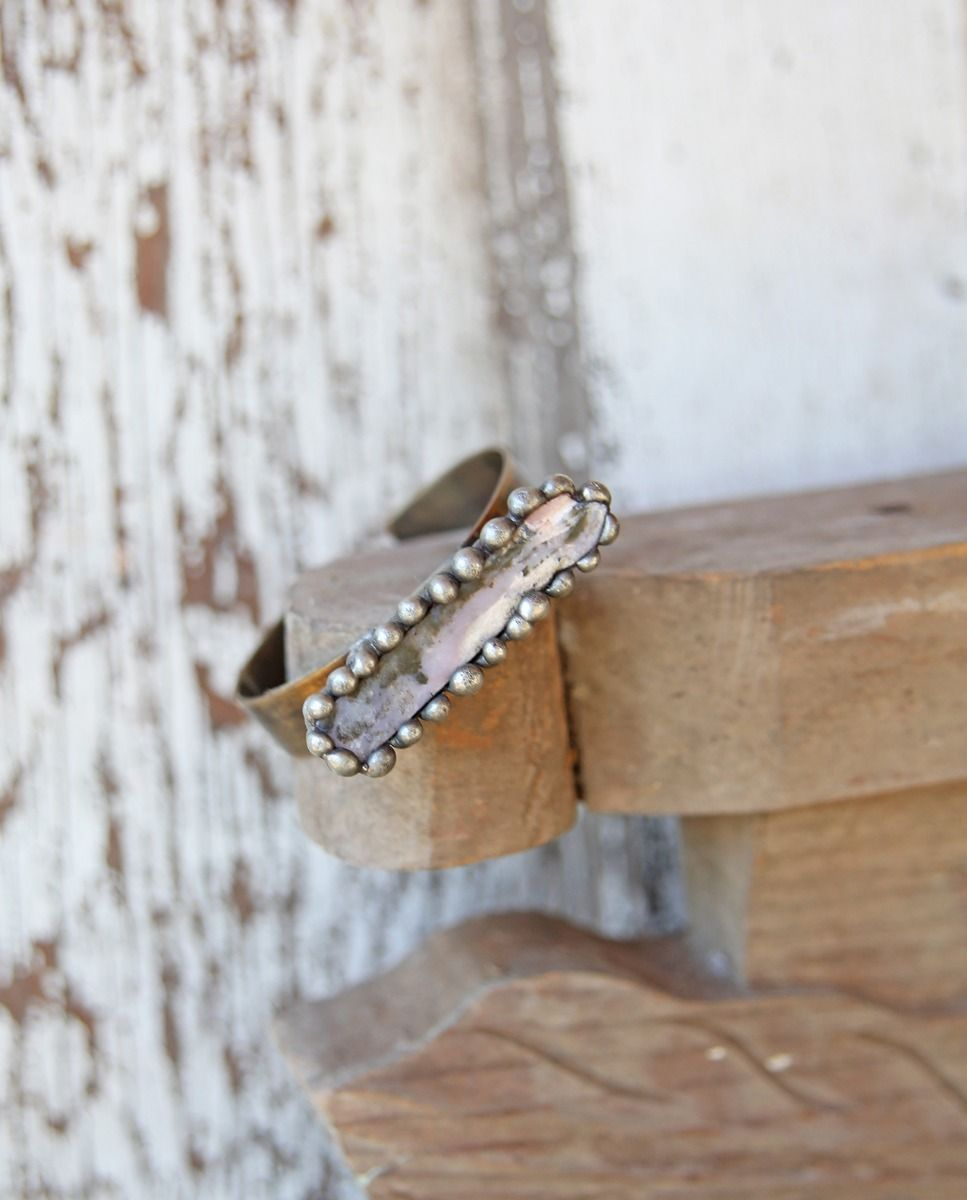 handmade quarry cuff