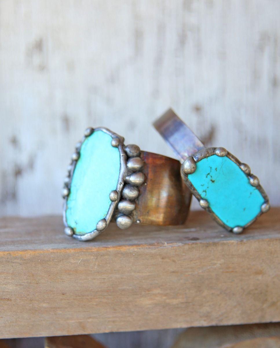 Workbench Turquoise Cuff
