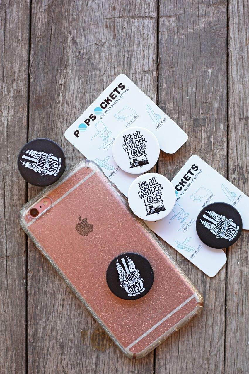 not all who wander are lost popsocket