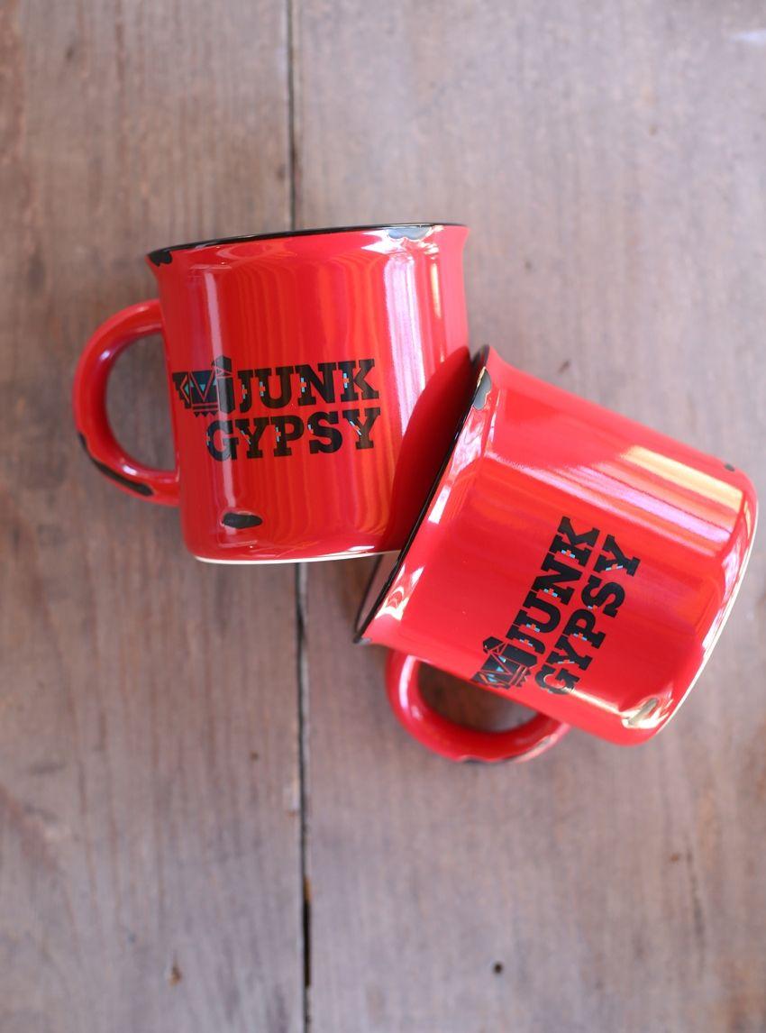 southwest junk gypsy camp mug