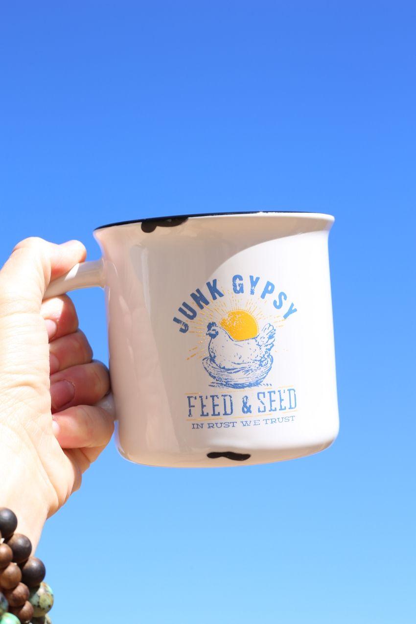 feed & seed retro camp mug