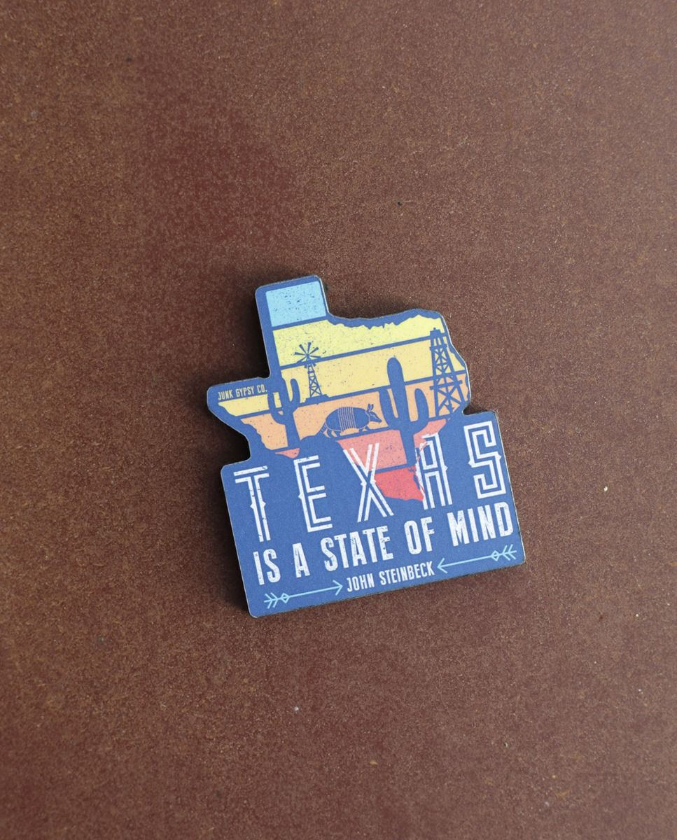 texas state of mind magnet