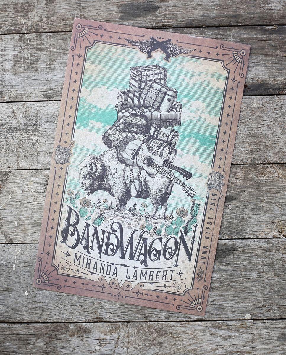 bandwagon tour poster 11x17