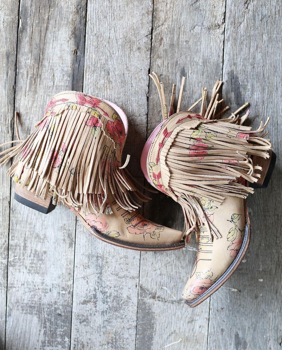 spitfire boot floral