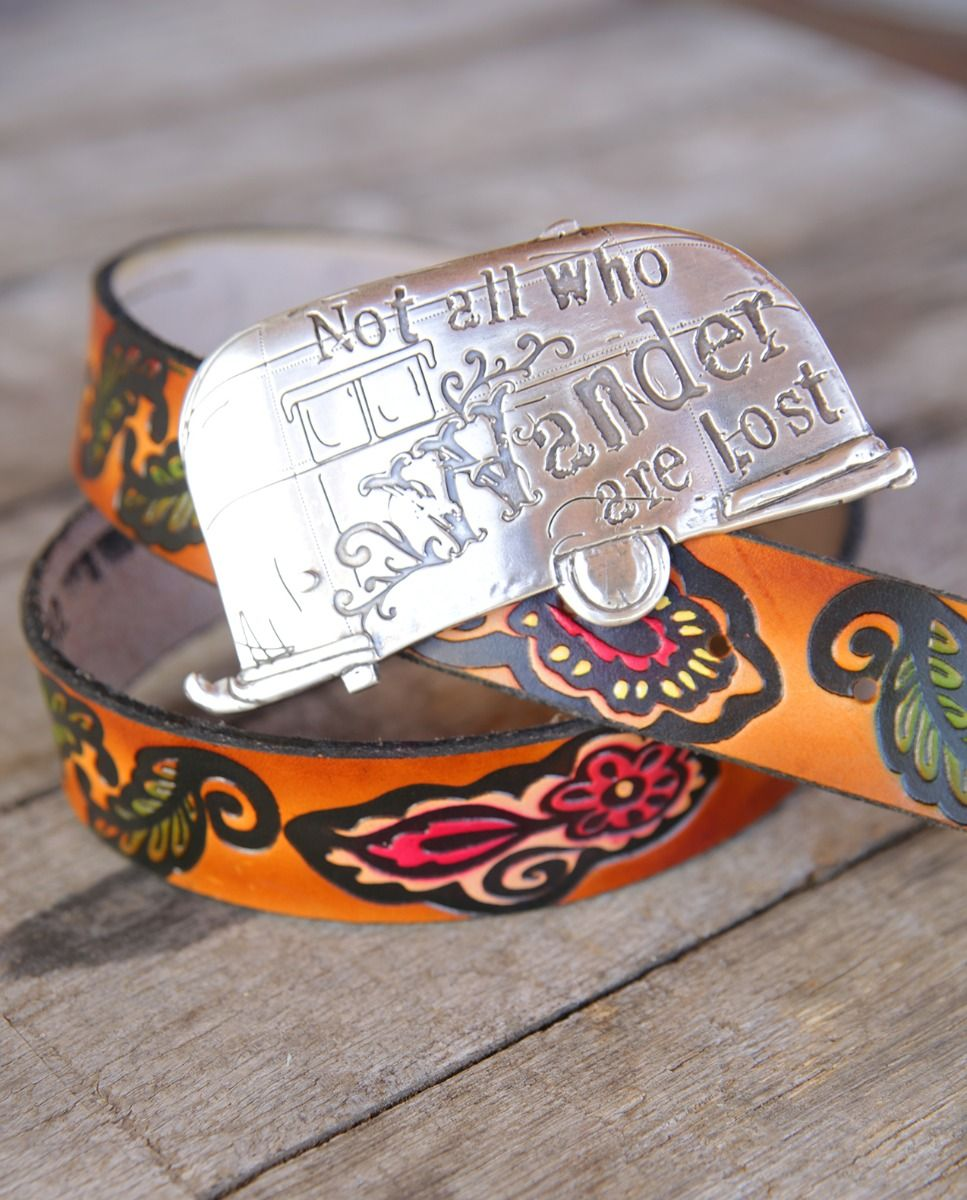 not all who wander buckle