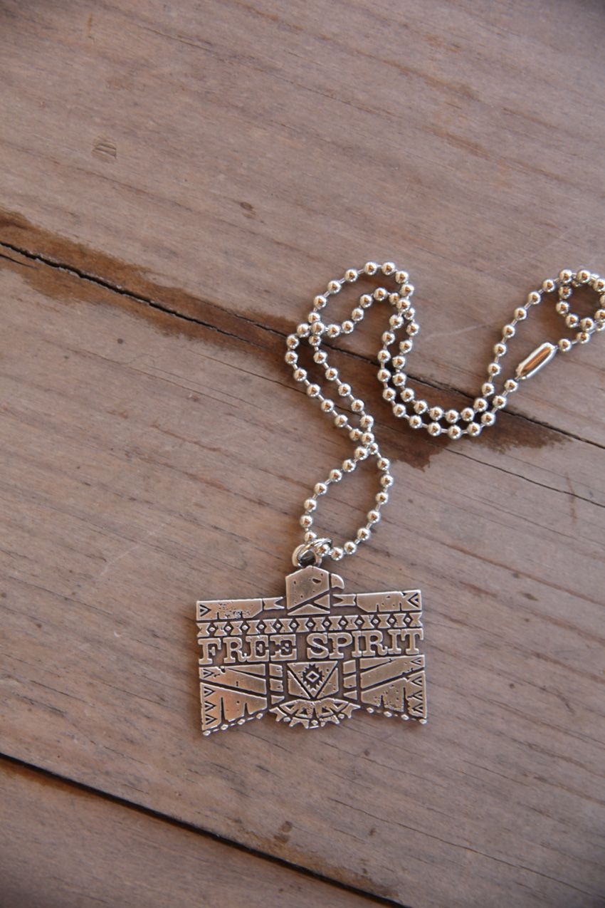 free spirit pendant necklace