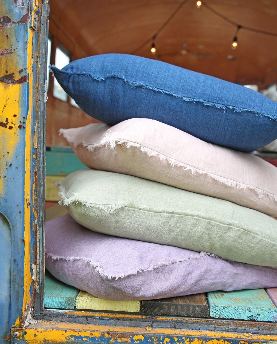 marley linen euro pillow