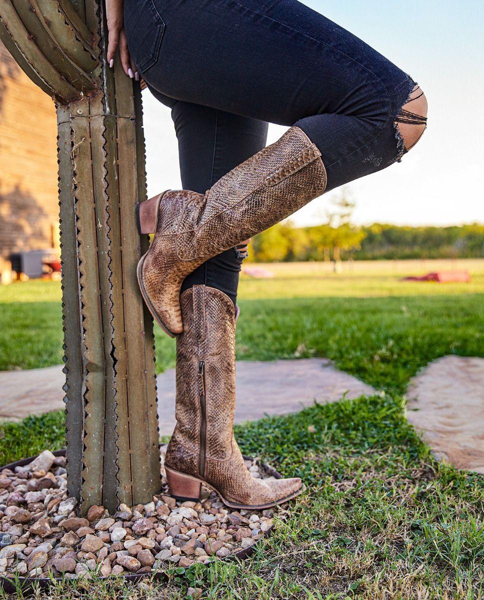 the desert highway boot - brown