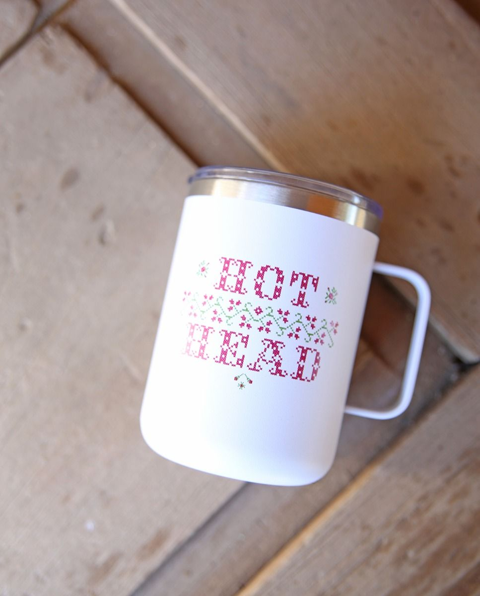 hot head camper mug