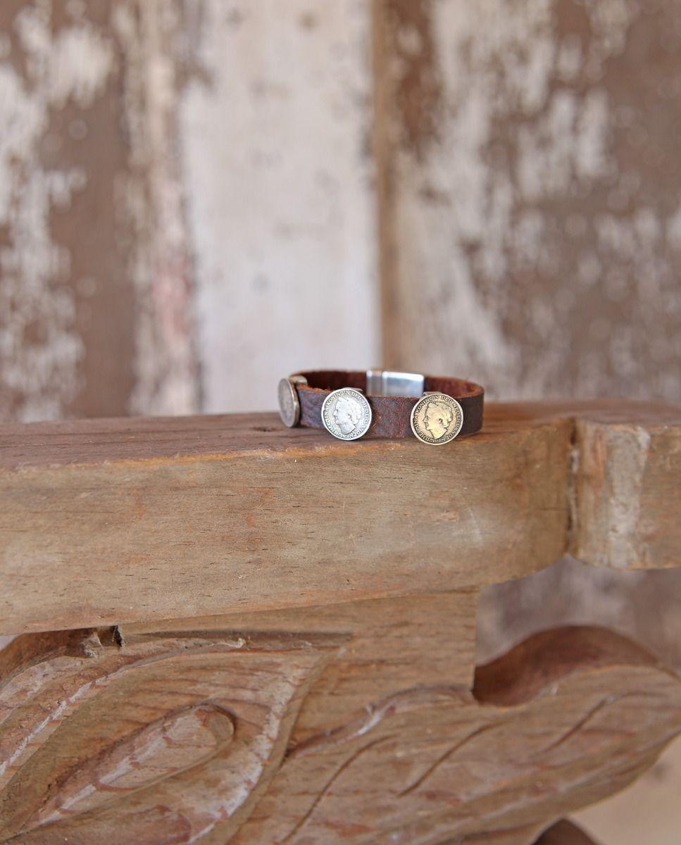 kodiak & coins bracelet