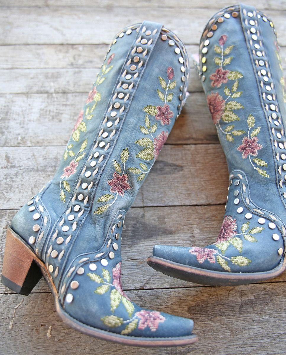 wild stitch boot - navy