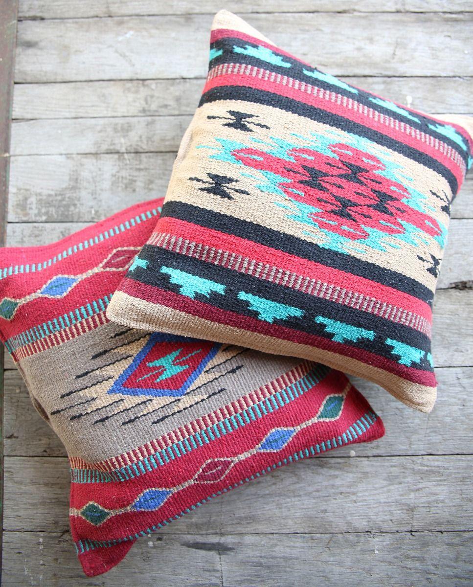 azteca pillows