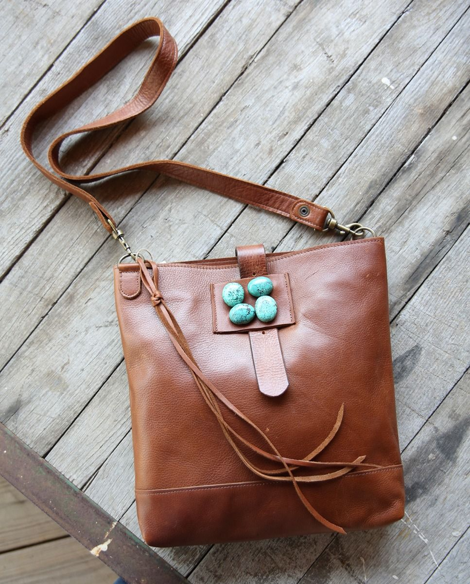 monica messenger bag - by McFadin - yellowstone inspired