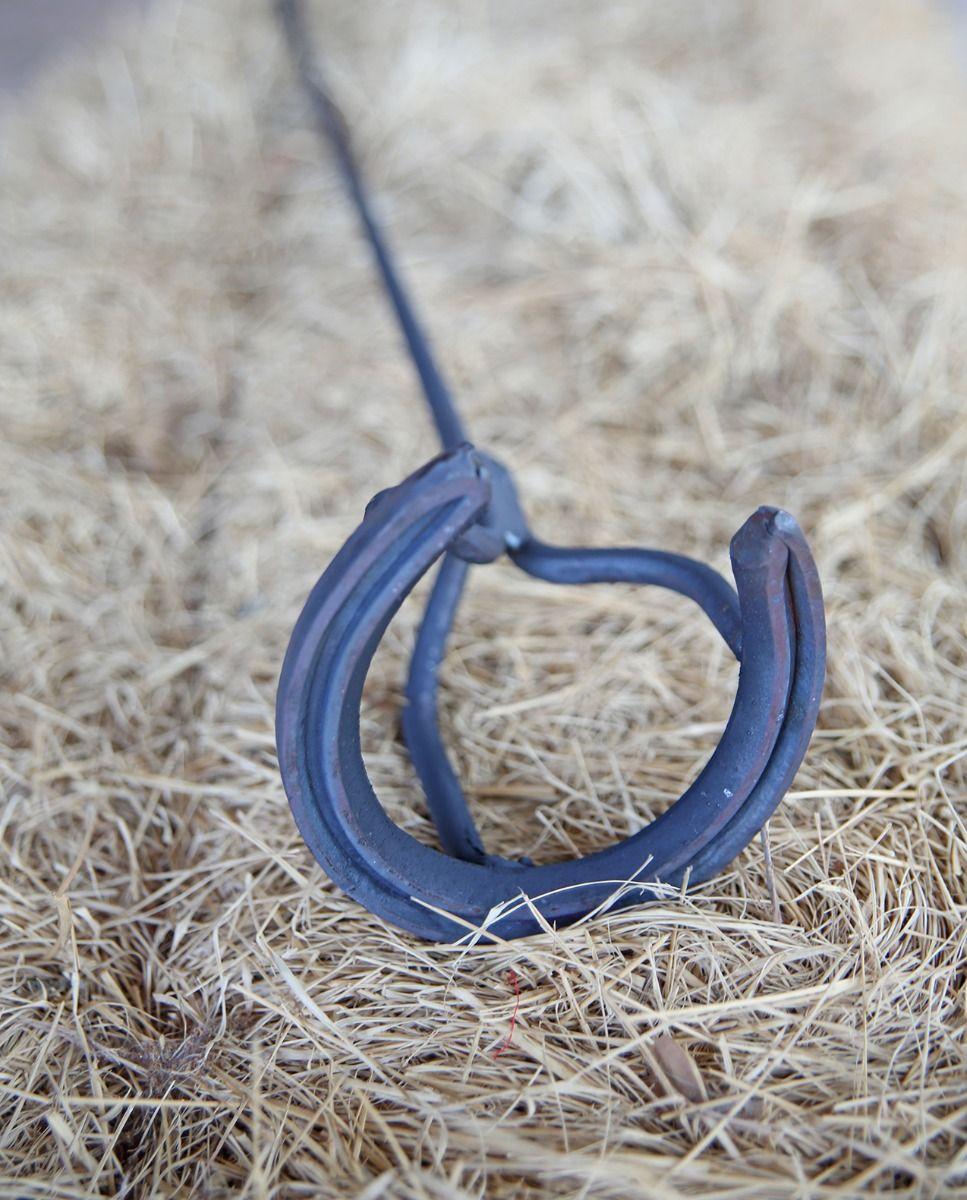 horseshoe branding iron