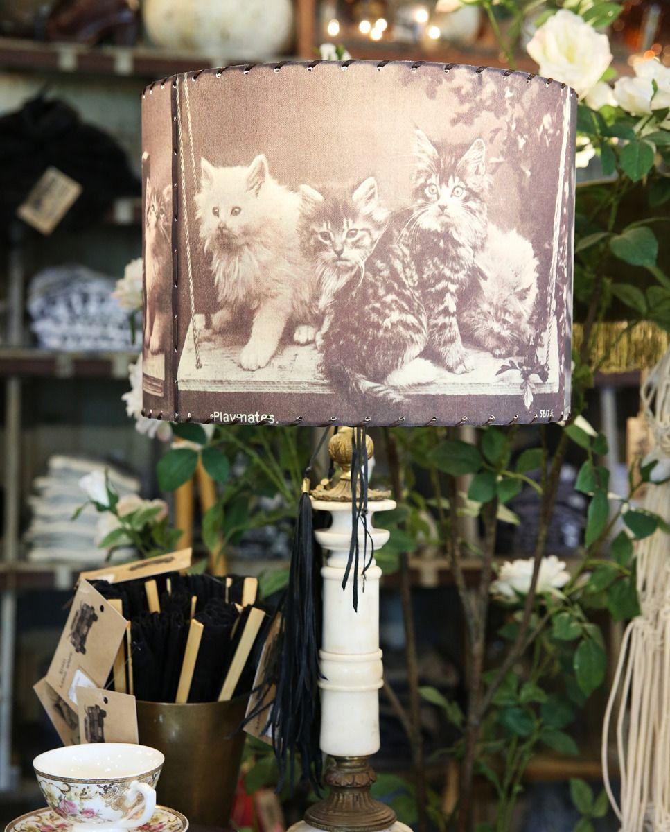 playmates kitten lampshade