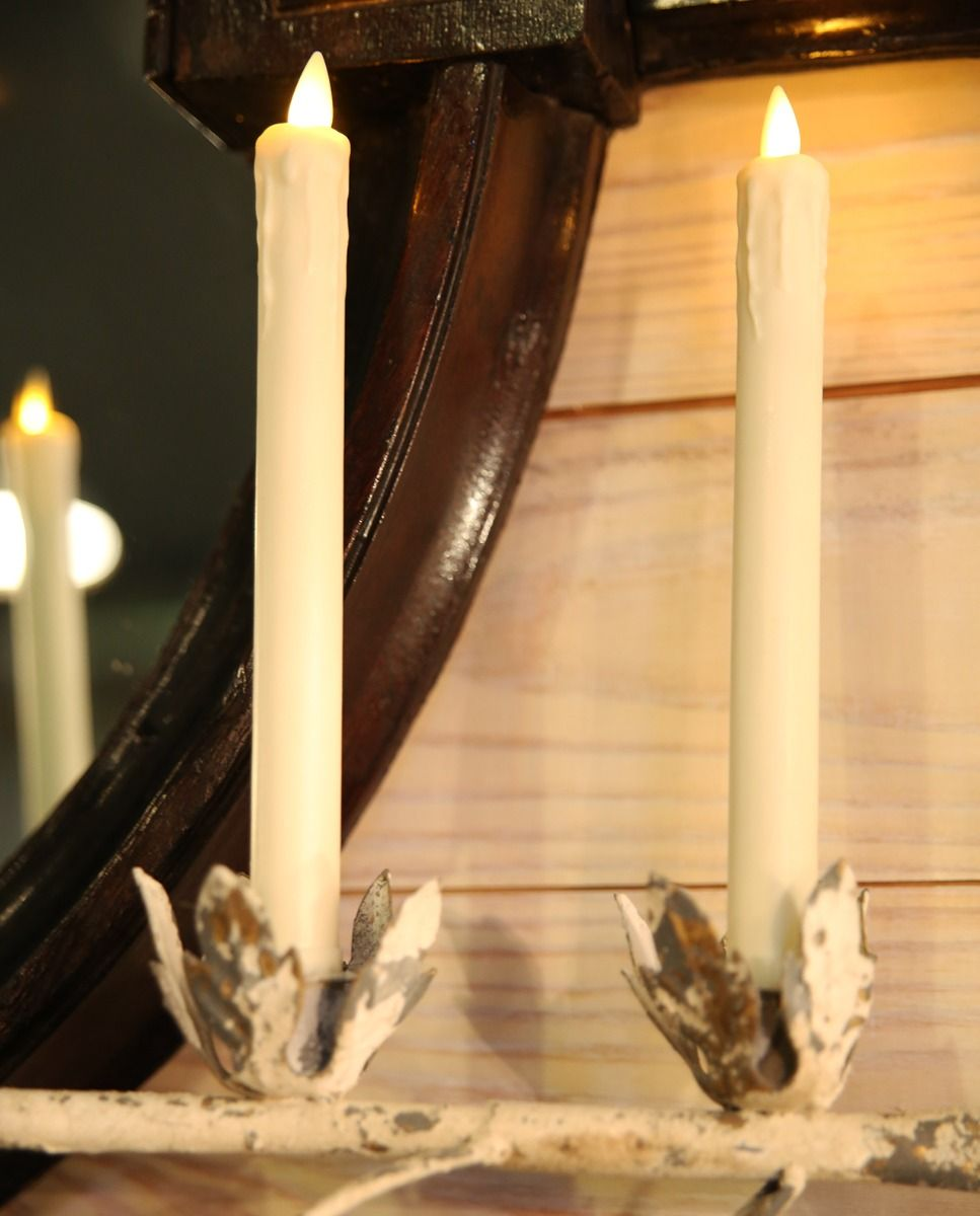 flicker taper candle - set of 2