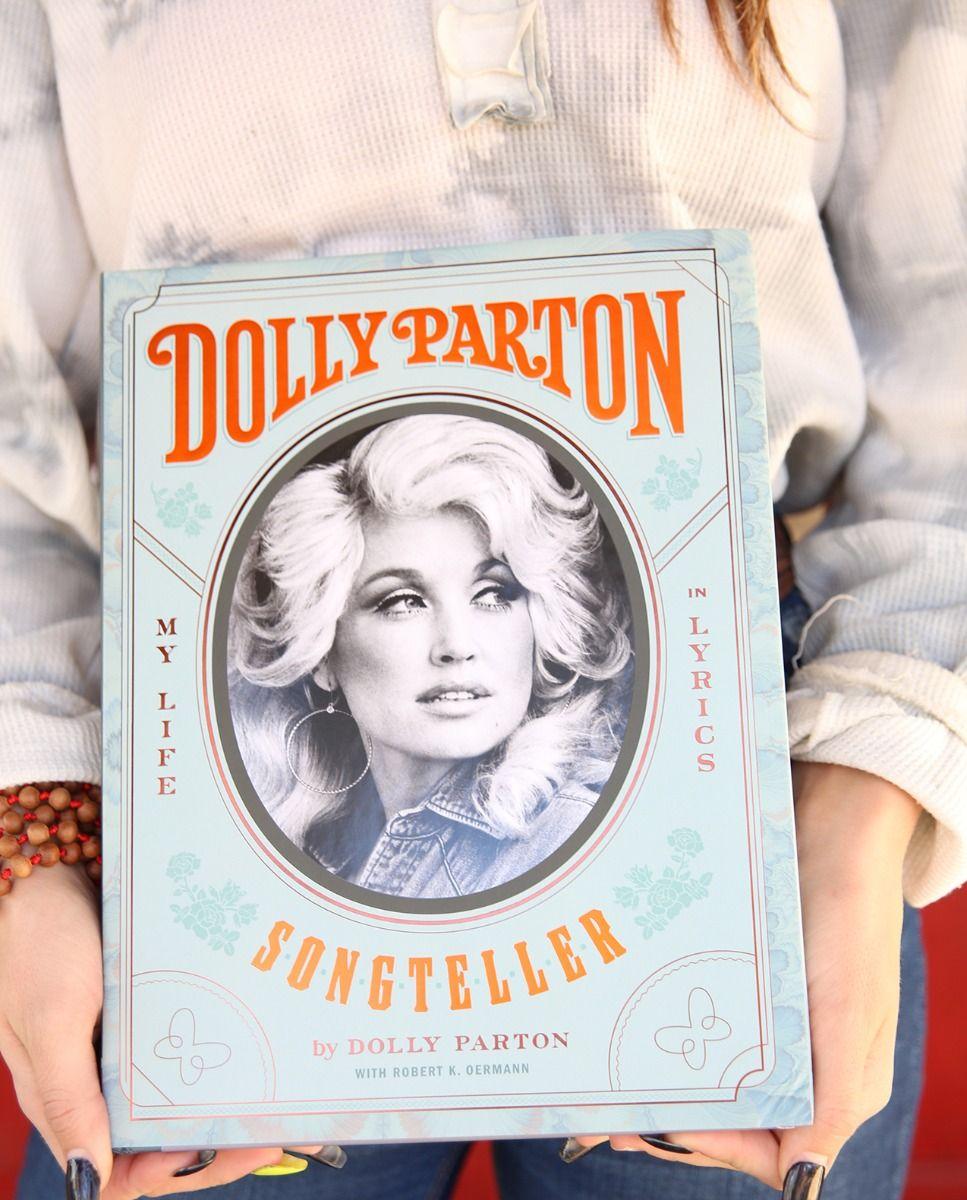 dolly parton's songteller book