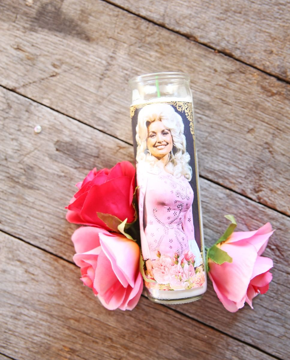 dolly parton candle