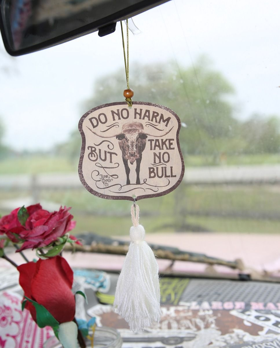 Do No Harm, but Take No Bull Air Freshener