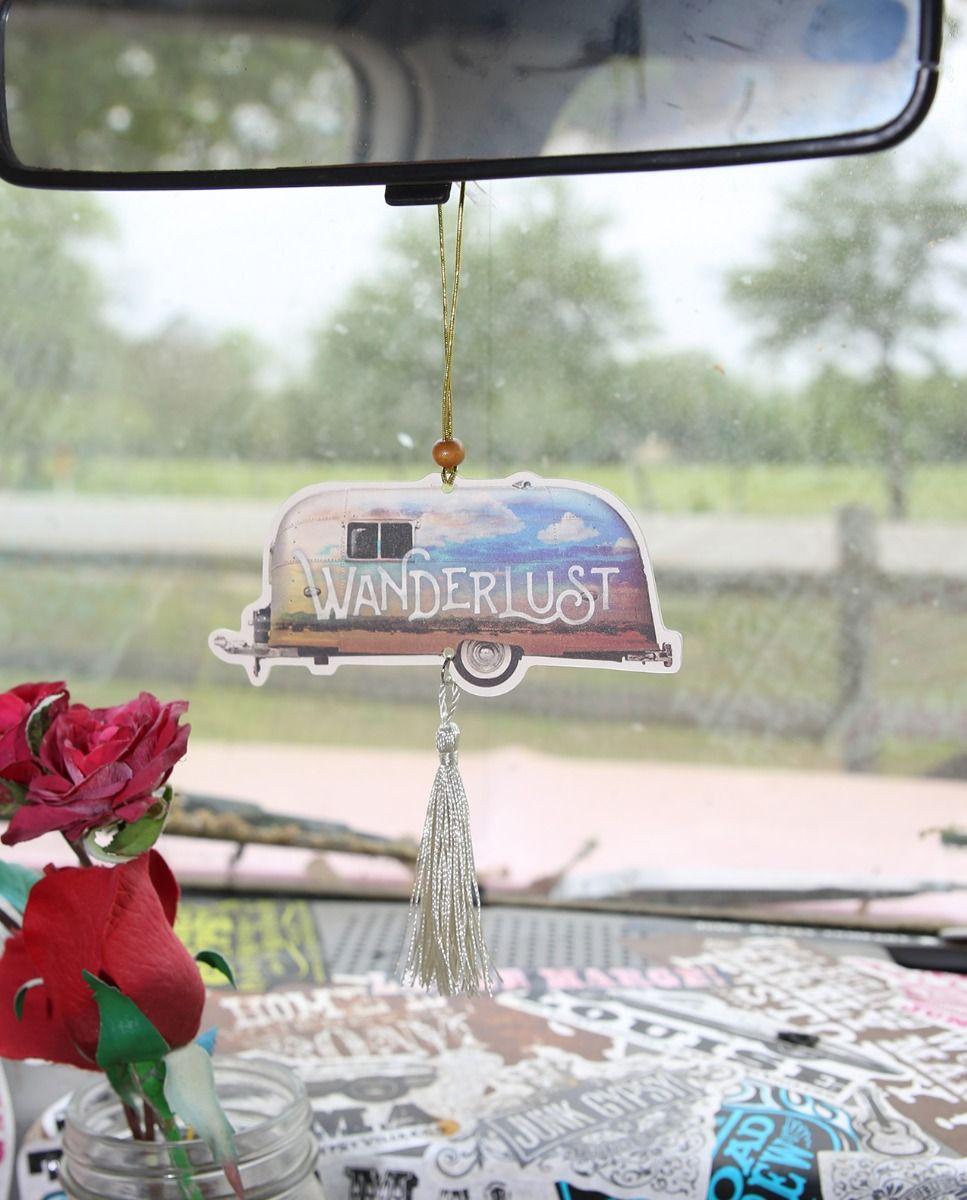 Wanderlust Airstream Air Freshener