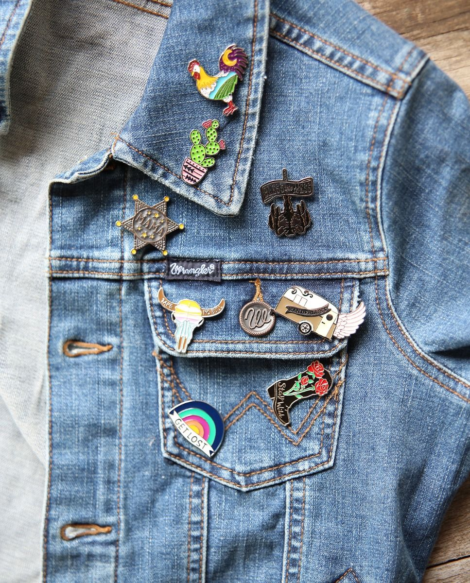 Mama Sheriff Badge Enamel Pin