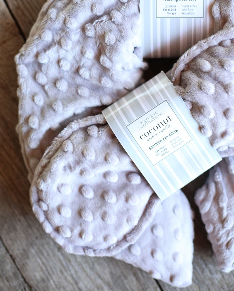 Coconut Ambre Vanille Soothing Eye Pillow