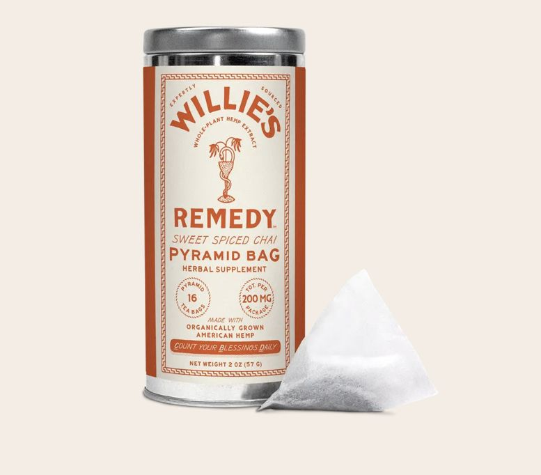 Willie's Remedy Hemp-Infused Sweet Spiced Chai Tea