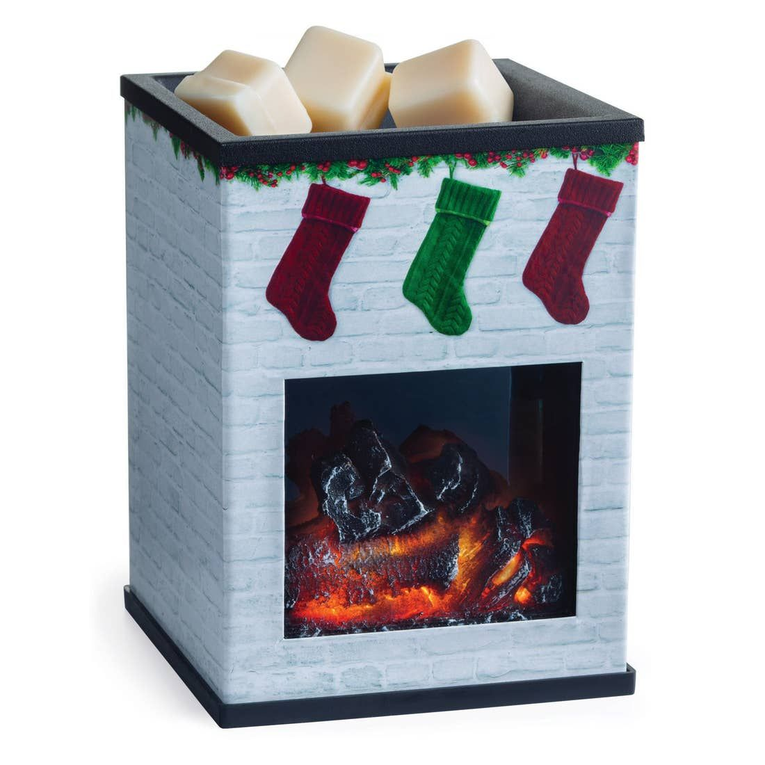 holiday fireplace warmer