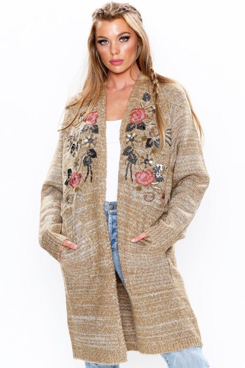 Lady May Sweater Cardigan
