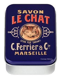 Savon le Chat Mini Tin Box
