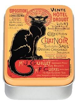 Le Chat Noir Drouot Mini Tin Box