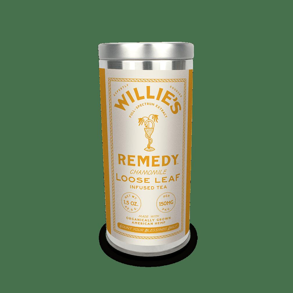 Willie's Remedy Chamomile tea tin