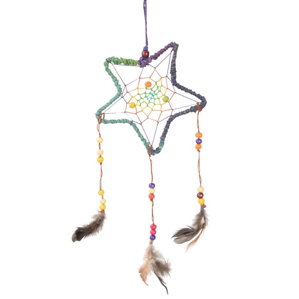 star hemp dreamcatcher