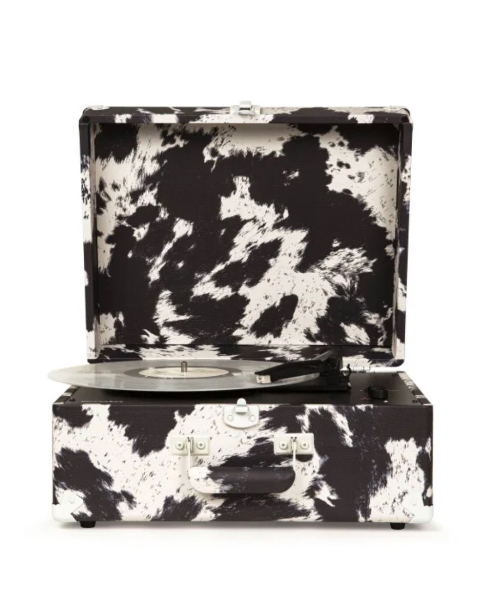 cowhide anthology turntable