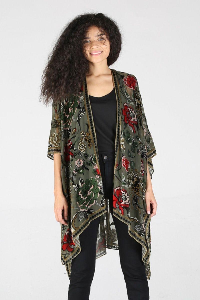 emerald estelle kimono
