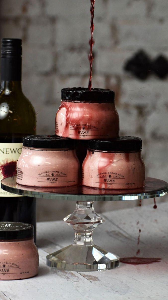 wine bathhouse whipped soap