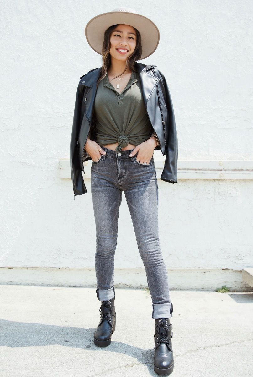 gisele highrise skinny jeans - mayfair