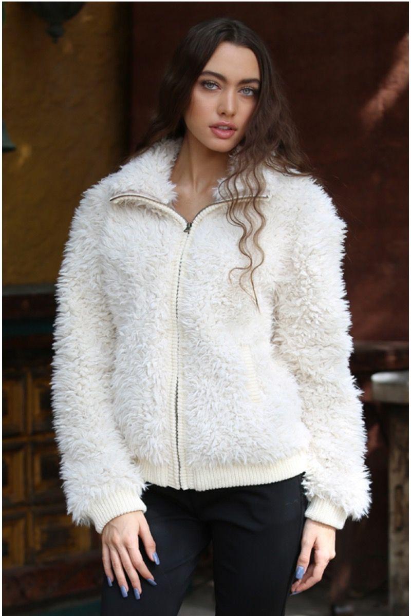 trickiest spell wooly jacket