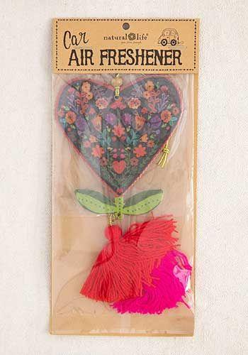 heart flower air freshener