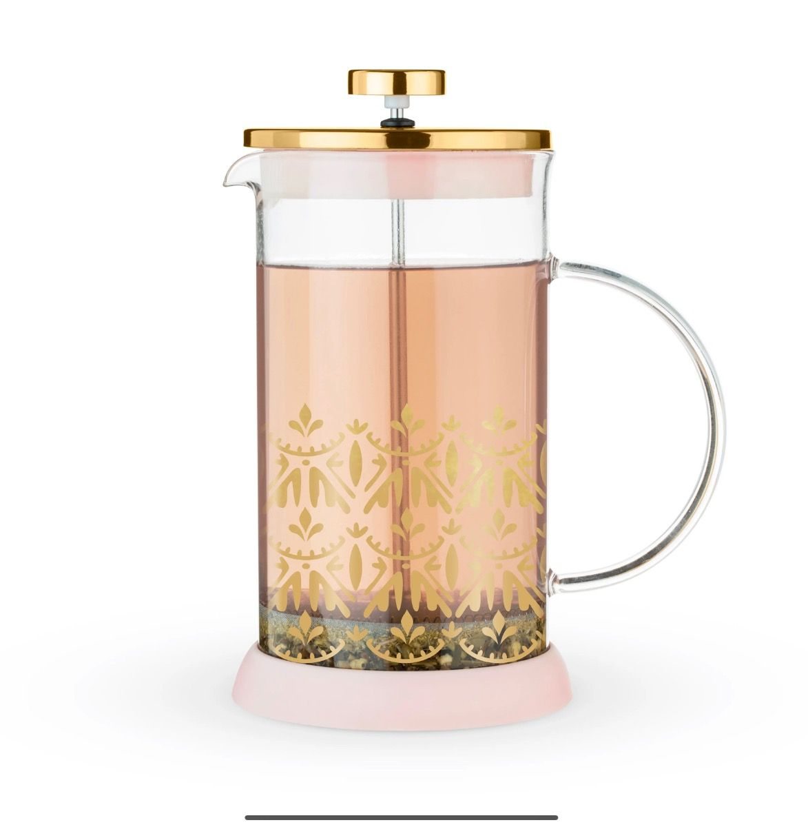 Riley Casablanca Glass Tea Press Pot by Pinky Up
