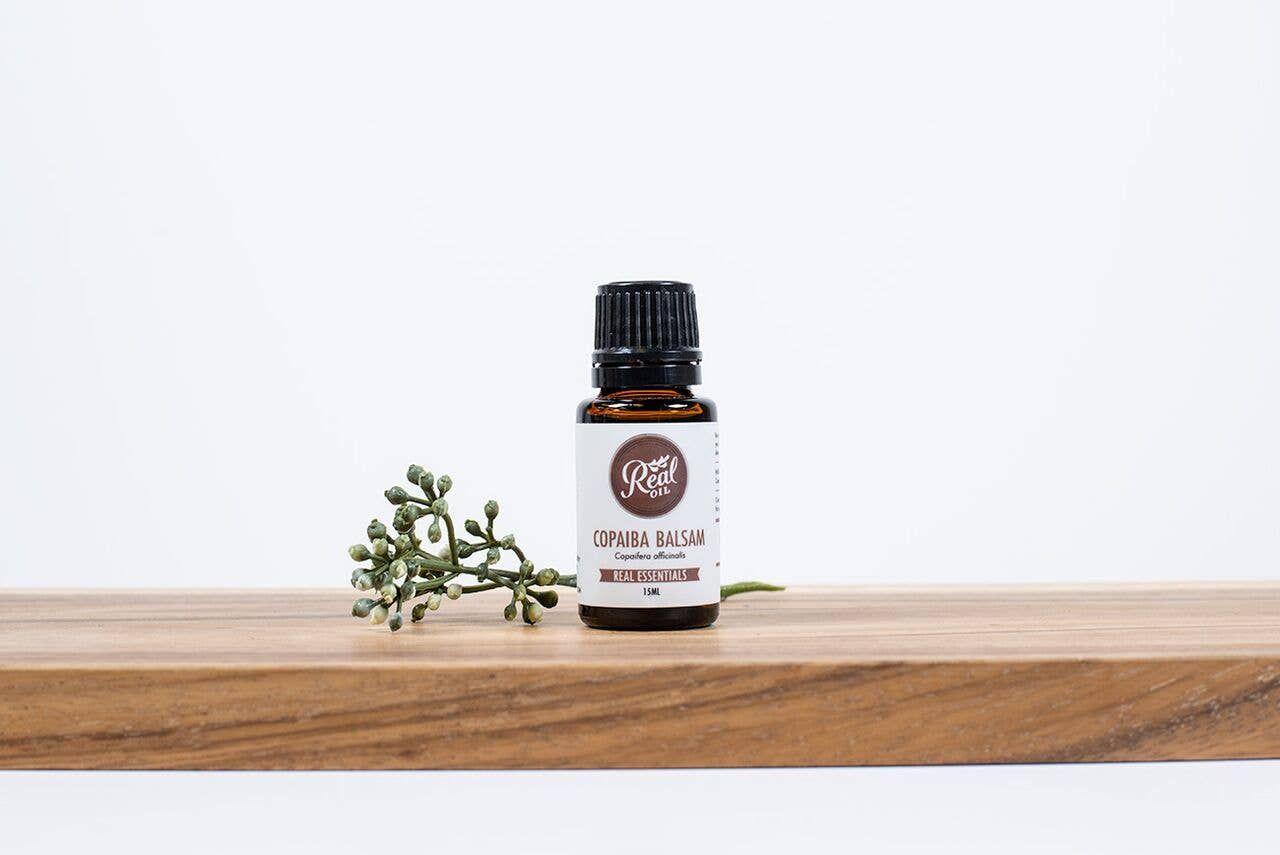 real oil - copaiba balsam essential oil - 15 ml